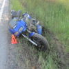 Na Kladensku havaroval motocyklista