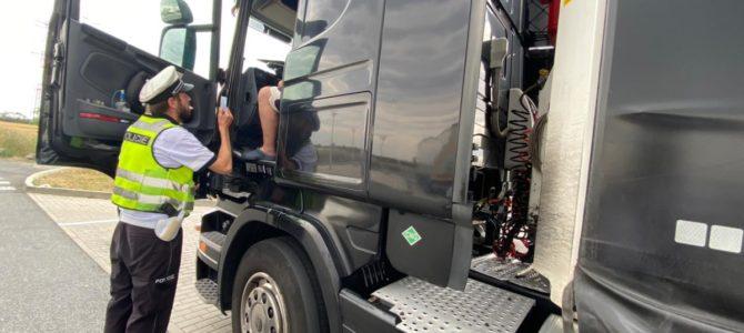 Rozsáhlá dopravně bezpečnostní akce