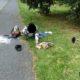 Na cestě domů si cyklista způsobil zranění