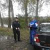 Kontroly vozidel u lesních porostů a rybníků